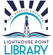 lighthouse point library logo