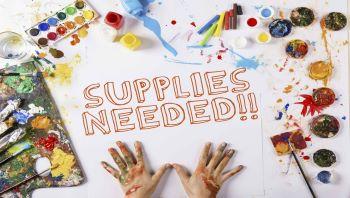 Supplies Needed Flyer