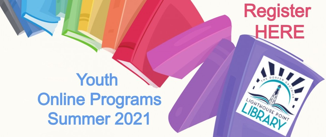 Register Here Button for Summer Youth Programs
