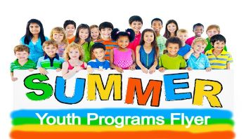 Summer Youth Programs Flyer